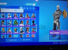 Fortnite account with rare skins