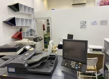 للبيع (ادوات مكتبيه-اجهزة كمبيوتر-الاة تصوير ) باسعار مغرية