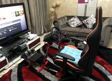 logtich g29 + shfiter + stand and gaming chair