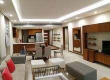 For rent a luxurious apartment in a classy building  in amwaj islands overlookin