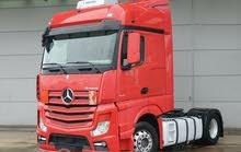 للبيع بمعرضنا بحالة فوق الممتازة شاحنه مرسيدس اكتروس 1845 mp4 موديل 2014