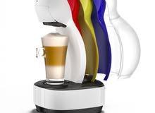 نسكافيه دولتشي جوستو - ماكينة تحضير القهوة (COLOR) – أبيض