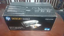 طابعة Hp deskjet D4363 بحالة ممتازة