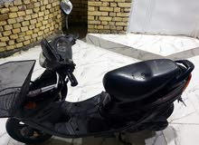 Yamaha motorbike made in 2018