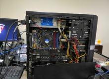 جهاز كمبيوتر Xeon 3460 CPU - 16 Gig Ram و كرت شاشة خارجي بحالة الوكالة للبيع