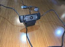 كاميرا ويب كام سي 920 اي  webcam c920e