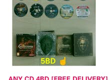 ps3 any cd 4bd free delivery