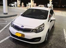 كيا ريو خليجى عمان موديل 2014 بحاله الوكاله