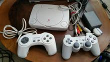 Playstation 1 video game console up for sale. For hardcore gamers