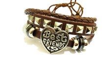 bracelet marron en cuir nouvelle collection