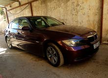 Maroon BMW 320 2007 for sale
