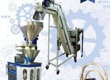 آلة تعبئة وتغليف المواد الغذائية (الحبوب-البقوليات)من الهندسية ستيل (للبيع)