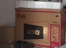 شاشه LG. 32 جديدة 100%