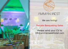 Banqueting Sales (Female only)