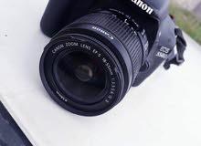 كاميرا كانون 550d إستعمال نظيف معاها عدسة