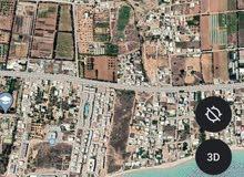 أرض للبيع قريب من الشاطئ بطنطانةالمتر ب700دينار