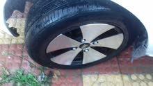 جنط 14 مع العجلات بحالة جيدة  للبيع 0786554529