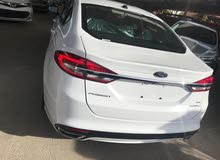White Ford Fusion 2017 for sale