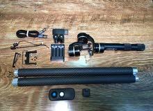 Feiyu G4 stabilizer gimbal for GoPro and action cameras عصا مانع الهتزاز للتصوير المحترف