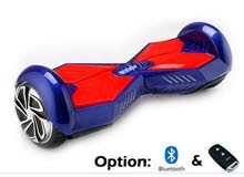 hover board blue and red