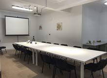 قاعات تدريب او مكاتب للايجار في بن عاشور (يومي -اسبوعي -شهري)