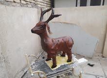 تمثال غزال لتزين الحديقة للبيع