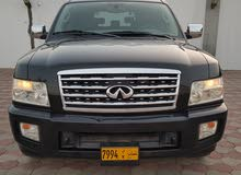 Black Infiniti QX56 2009 for sale
