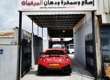 جراج نيسمو عمان متخصصون في تصليح وسمكرة وتعديل شواصي وتلميع السيارة
