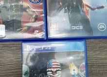 ps4 games in excellent condition.
