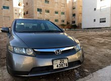 Honda Civic car for sale 2007 in Amman city