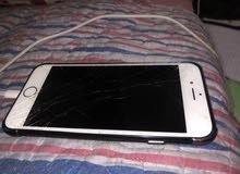 مطلوب شاشة أيفون 6 أس لون أبيض أصلية من جهاز