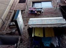 منزل للبيع مساحته 75 متر - 4 طوابق - خالى من السكان - شارع السد العالى - من احمد ذكى - المعادى..
