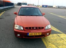 Hyundai Accent 2002 For sale - Maroon color