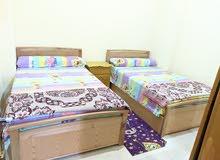 شقة غرفتين تاني برج من البحر بشاطئ الفيروز بمرسي مطروح