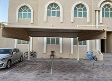 two car parking shade