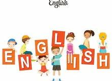 معلمة لغة انكليزية لطلاب الصفوف (خامس - سادس - ثامن)