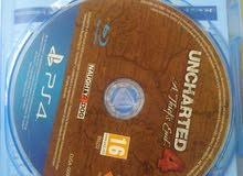 uncharted 4 النسخة العربية للبيع او البدل
