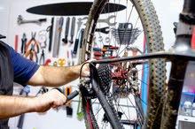 صيانة جميع انواع الدراجات الهوائية