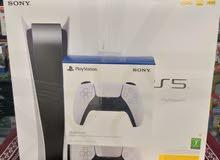 سوني بلايستيشن 5 و يد إضافية Sony playstation PS5