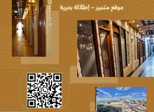 للإيجار مكتب باطلالة بحرية مميزة علي شارع الخليج وسالم المبارك لجميع الأنشطـة التجاريـة