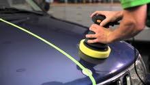 خدمة تنظيف و تلميع السيارات تصلك للبيت