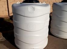 خزانات ماء بلاستيكية