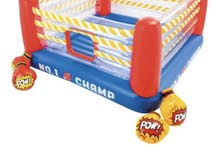 لعبة جمب أو لين للقفز قابلة للنفخ على شكل حلبة ملاكمة 226x226x110سم