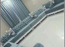 new making sofa, majlis, curtain.Recovering old sofa, majlis.