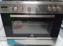 Electrolux 5 burner cooking range