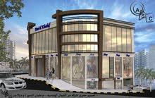 محل للبيع داخل مجمع تجاري منطقة السابع خلف الملكية