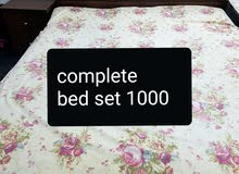 I want to sell my complete bed set and sofa urgently.