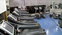 مركز رياضي للايجار ..كامل متكامل جاهز للتأجير والتشغيل