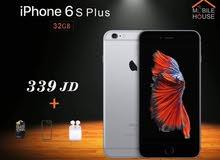 ايفون 6s Plus جديد كفالة APPLE سنة كاملة بسعر مميز من MOBILE HOUSE معتمد من ابل