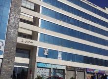 مكتب تجاري  للايجار او البيع المقابلين شارع القدس